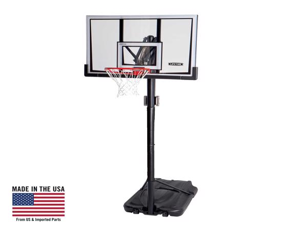 Lifetime 52 in. Portable Basketball Hoop (90167) - Good investment and bring the arena to your home.