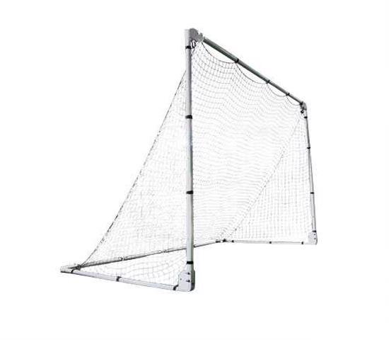 Lifetime 7x5 ft Adjustable Height Portable Soccer Goal (90046) - Ideal for all ages.