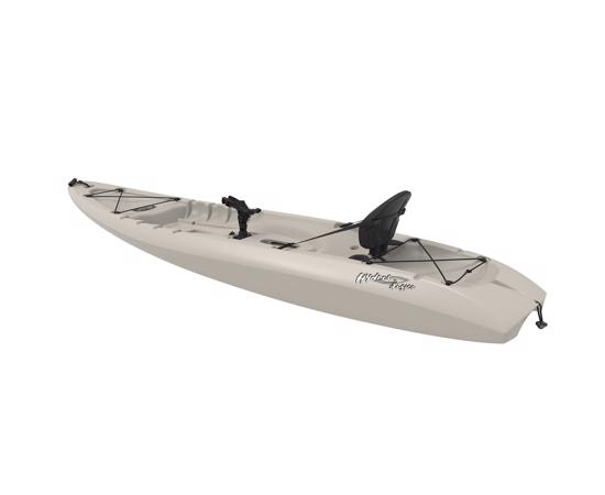 Lifetime 8.5 ft Hydros Angler Kayak w/ Paddle & Rod Holders - Sandstone (90610) -  Enhance your paddling adventure.