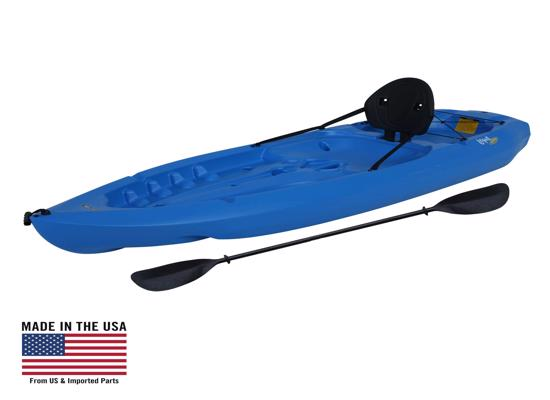 Lifetime 8 ft Sit-On-Top Lotus Kayak - Blue (90112) -  Great experience for kayaking adventure
