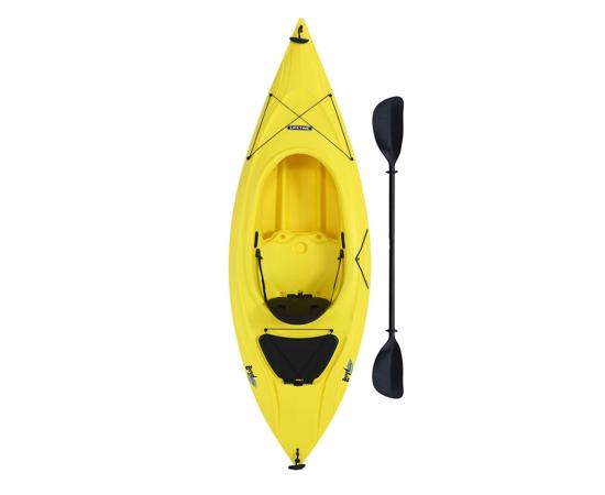 Lifetime Boyd 9 ft. 8 in. Sit-Inside Kayak - Yellow (90216) - Enhance your kayaking experience.