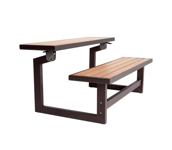 Lifetime Convertible Bench- Brown (60054) - Very sturdy and stable perfect for picnic.