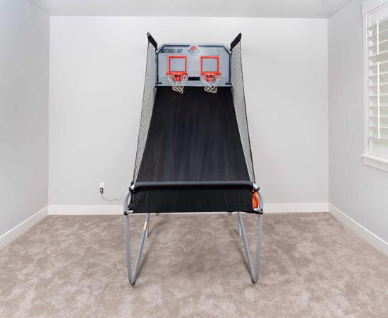 Lifetime Double Shot Arcade Basketball Hoops Game - Heavy Duty (90056) - Create a fun arcade atmosphere, providing your family with years of excitement and fun.