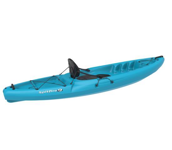 Lifetime Emotion Spitfire 9 ft Sit-On-Top Kayak Glacier Blue (90248) - Ideal for summer adventures.
