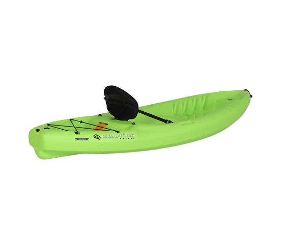 Lifetime Emotion Spitfire 8 ft. Sit-On-Top Kayak  Lime Green (90245) - Ideal for kids and adult.