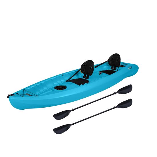 Lifetime Envoy 106 Sit-On-Top Tandem Kayak - Glacier Blue w/ Paddles (90931) This kayak will definitely help your body physically and mentally.