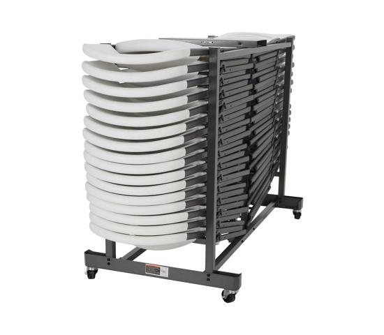 Lifetime Folding Chairs Storage Cart (6525) - Helps move all your extra chairs in just one trip.