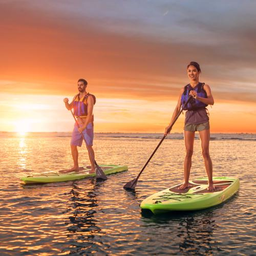 """Lifetime Horizon 10'0"""" Stand-Up Paddleboard - 2 Pack (90891) - Adventure in pair!"""