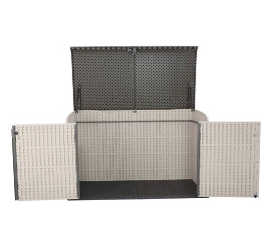 Lifetime Horizontal Outdoor Storage Box (60170) - Design help keep your valuables safe.