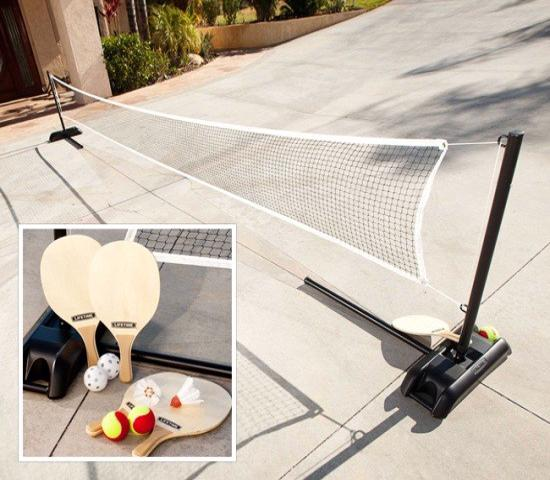 Lifetime Outdoor Games Set with Paddles (90421) - Fun games for for family and friends.