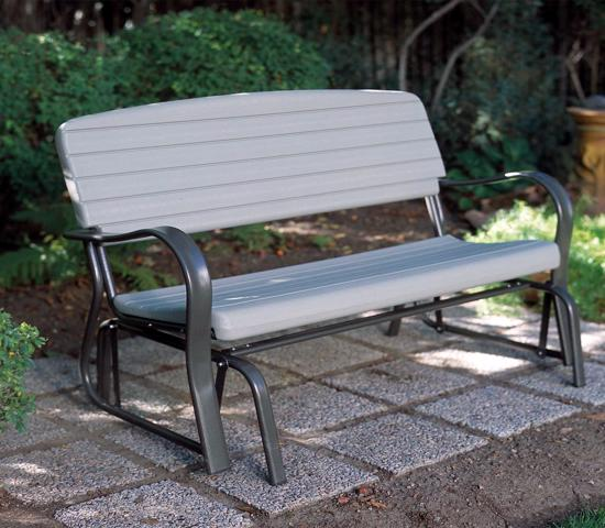 Lifetime Outdoor Glider Bench (2871) - Great to use for relaxing time at your patio.