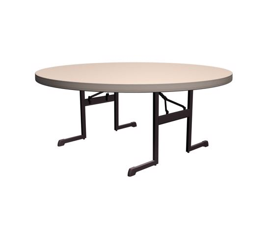 Lifetime Professional 60 in. Round Table - Putty (80125) - Ideal for rental companies, convention centers, hotels, outdoor events.