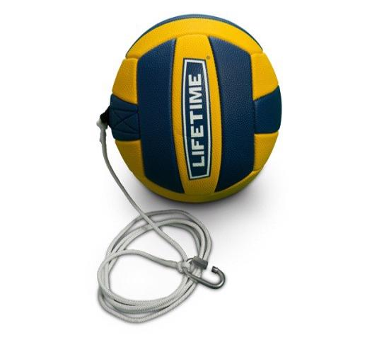 Lifetime 8 in. Softplay Tetherball with Cord (1054280) - Get back into the swings of things with this handy tetherball.