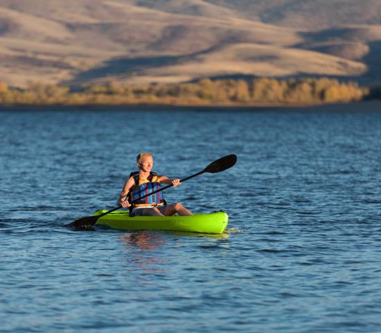 Lifetime Tahoma 100 Sit-On-Top Kayak w/ Paddle - Lime Green (90816)  Next  Lifetime Tahoma 100 Sit-On-Top Kayak w/ Paddle Lime Green (90816) - Best kayak for paddling adventures.
