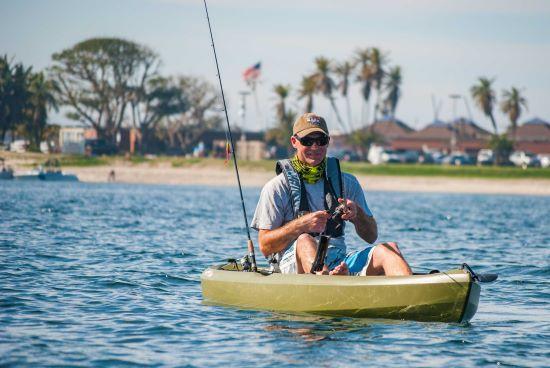 Lifetime Tamarack Angler 10 ft Fishing Kayak w/ Paddle Olive Green (90818) - Extraordinary fishing experience.