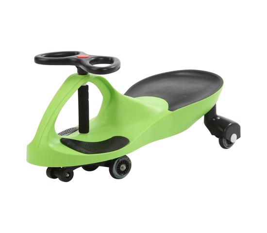 Lifetime Wiggle Car - Lime Green (1085542) - Great fun with kids for indoor and outdoor use.