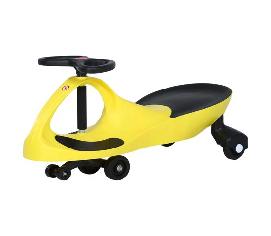 Lifetime Wiggle Car - Yellow (1047943) - Amazing fun and exercise for your little one.