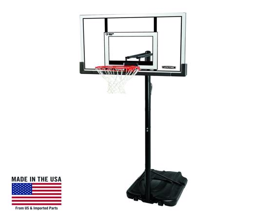 """Lifetime XL Base, 52"""" Steel-Frame Shatterproof,Action Grip (90176) - Enjoy hours of fun with friends and family in the comfort of your own home."""