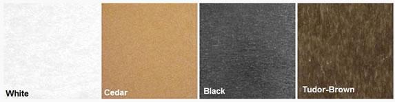 frame finish color options