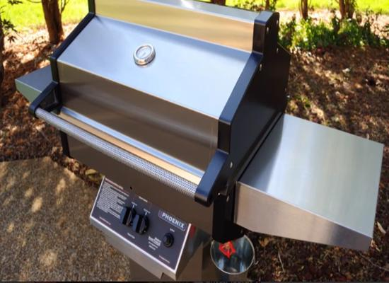 Phoenix Grills Black Stainless Grill (SDBOCP) You can grill, roast, steam and smoke foods in this grill.