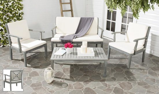 safavieh del mar 4 pc outdoor set pat6717b