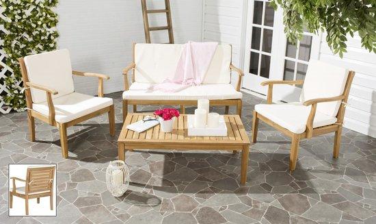 safavieh fresno 4 pc outdoor living set pat6711a