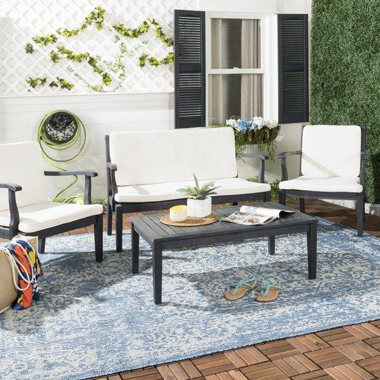 safavieh fresno 4 pc outdoor living set pat6711k