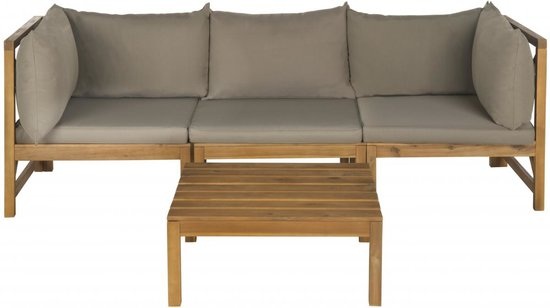 safavieh lynwood modular outdoor sectional sofa set pat6713b