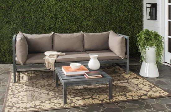 safavieh lynwood modular outdoor sectional sofa set pat6713d