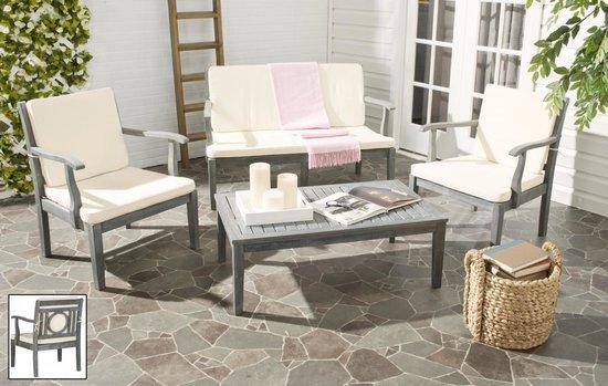 safavieh montclair 4 pc outdoor living set pat6712b
