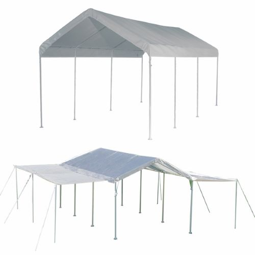 ShelterLogic Max AP 10x20 Canopy 2-in-1 with Extention White 23530 - Perfect for Outdoor parties.