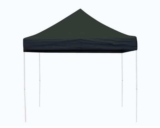 ShelterLogic 10x10 Pop-up Canopy Kit Black 22585 - Perfect for Outdoor use.