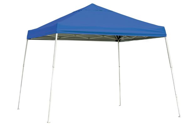 ShelterLogic 10x10 Pop-up Canopy Blue 22576 - Perfect for Outdoor use.