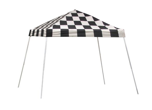 ShelterLogic 10x10 Pop-up Canopy Kit Checkered Flag 22776 -  Perfect for Outdoor use.