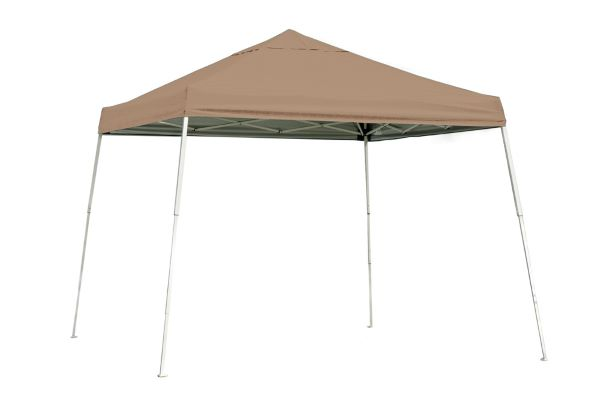 ShelterLogic 10x10 Pop-up Canopy Kit Desert Bronze 22559 - Perfect for Outdoor use.