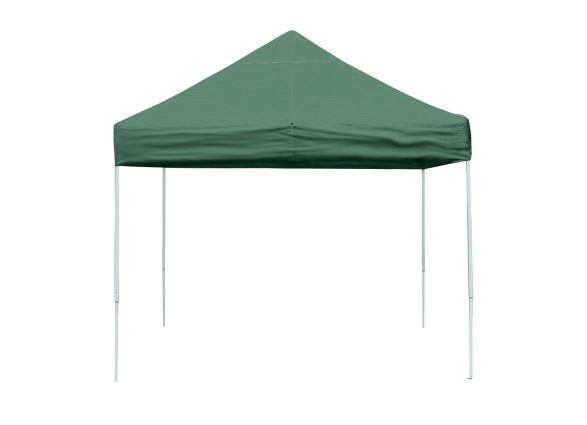 ShelterLogic 10x10 Pop-up Canopy Green 22563 - Perfect for Outdoor use.