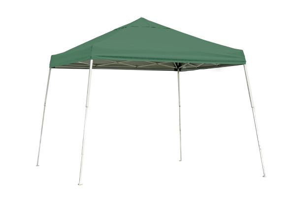 ShelterLogic 10x10 Pop-up Canopy Kit Green 22557 - Perfect for Outdoor use.