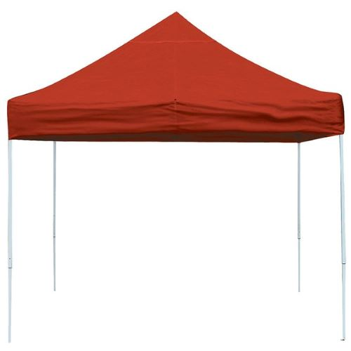 ShelterLogic 10x10 Pop-up Canopy Kit Red 22561 -  Perfect for Outdoor use.