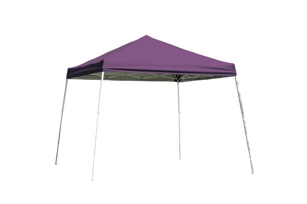 ShelterLogic 10x10 Pop-up Canopy Purple 22702 - Perfect for Outdoor use.
