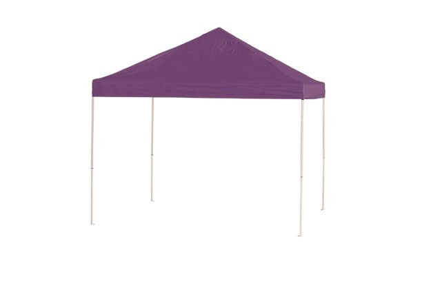ShelterLogic 10x10 Pop-up Canopy Purple 22703 - Perfect for Outdoor use.