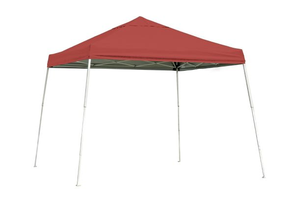 ShelterLogic 10x10 Pop-up Canopy Red 22556 - Perfect for Outdoor use.