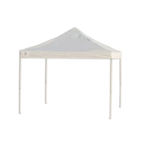 ShelterLogic 10x10 Pop-up Canopy Kit White 22596 - Perfect for pool and outdoor use.