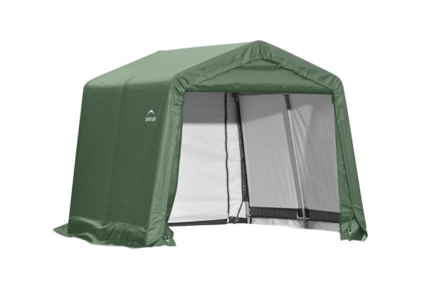 ShelterLogic 10x12x8 Peak Style Shelter Kit Green 72814 -  Perfect for outdoor use.