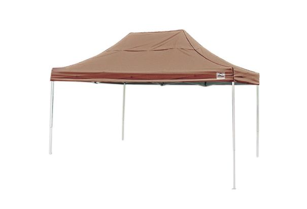 ShelterLogic 10x15 Pop-up Canopy Kit Desert Bronze 22554 - Perfect for Outdoor use.