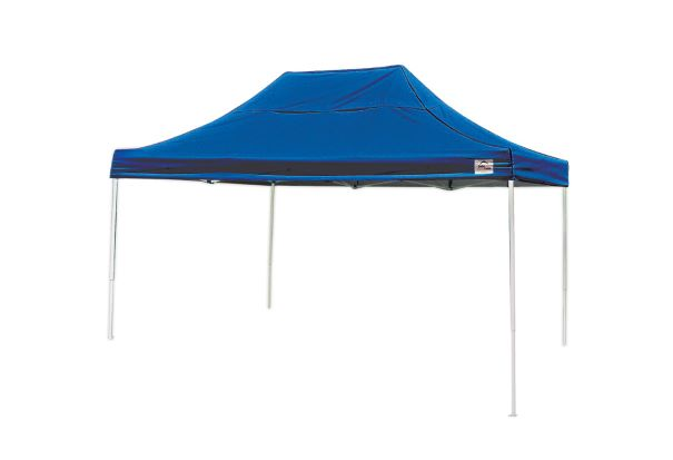 ShelterLogic 10x15 Pop-up Canopy Kit Blue 22551 - Perfect for Outdoor use.