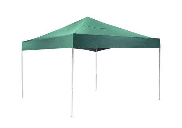 ShelterLogic 10x15 Pop-up Canopy Kit Green 22552 - Perfect for Outdoor use.