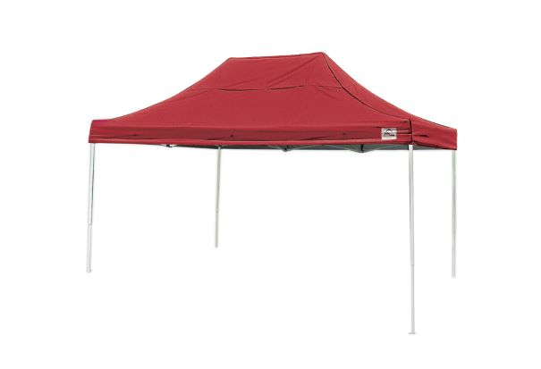 ShelterLogic 10x15 Pop-up Canopy Red 22550 - Perfect for Outdoor use.