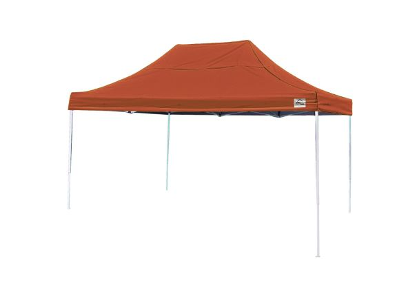 ShelterLogic 10x15 Pop-up Canopy Terracotta 22739 - Perfect for Outdoor use.
