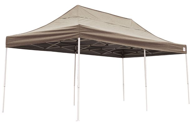 ShelterLogic 10x20 Pop-up Canopy Bronze 22583 -  Perfect for Outdoor use.