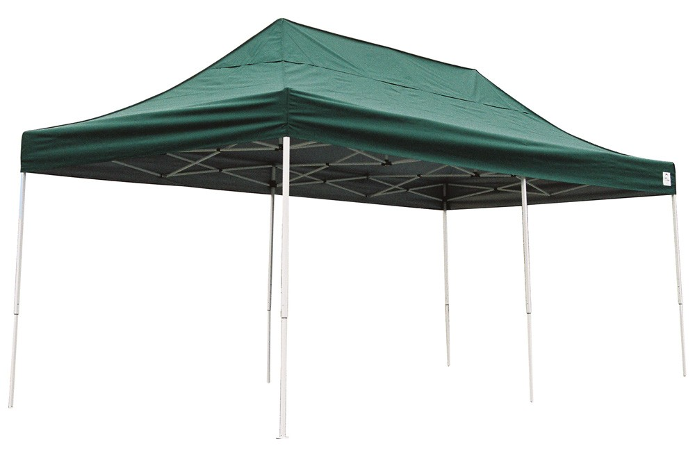 ShelterLogic 10x20 Pop-up Canopy Green 22582 - Perfect for Outdoor use.
